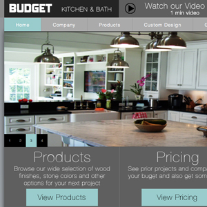 Budget Kitchen & Bath</h1><p>Kitchen and Bath Remodeling